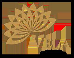 Vela Cafe Logo Gold Header